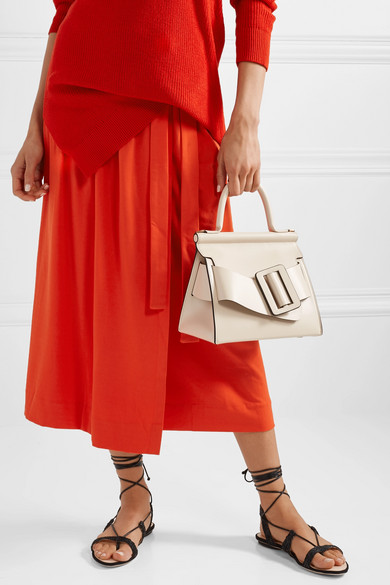 Boyy white Karl 24 handbag
