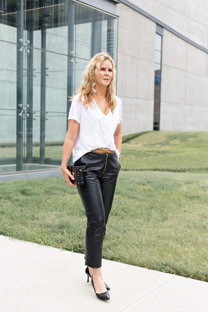 Victoria Beckham leather pants