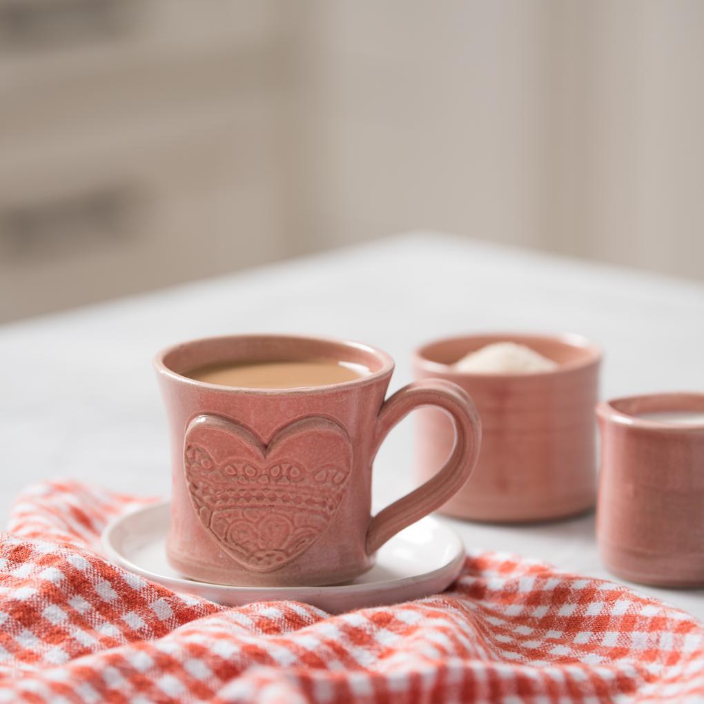 Magnolia Valentine mug