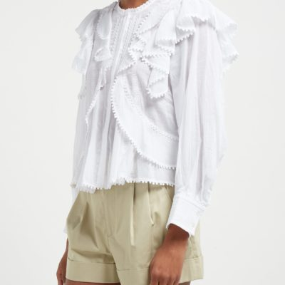 Isabel Marant Alea ruffled blouse