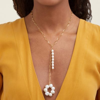 Timeless Pearly baroque pearl necklace