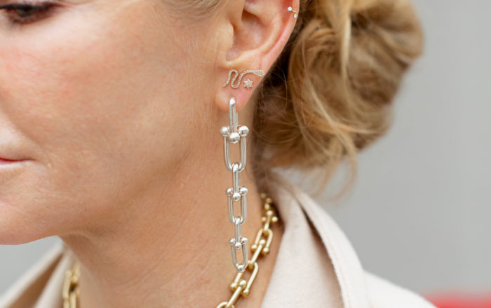 Tiffany hardware collection necklace and earrings