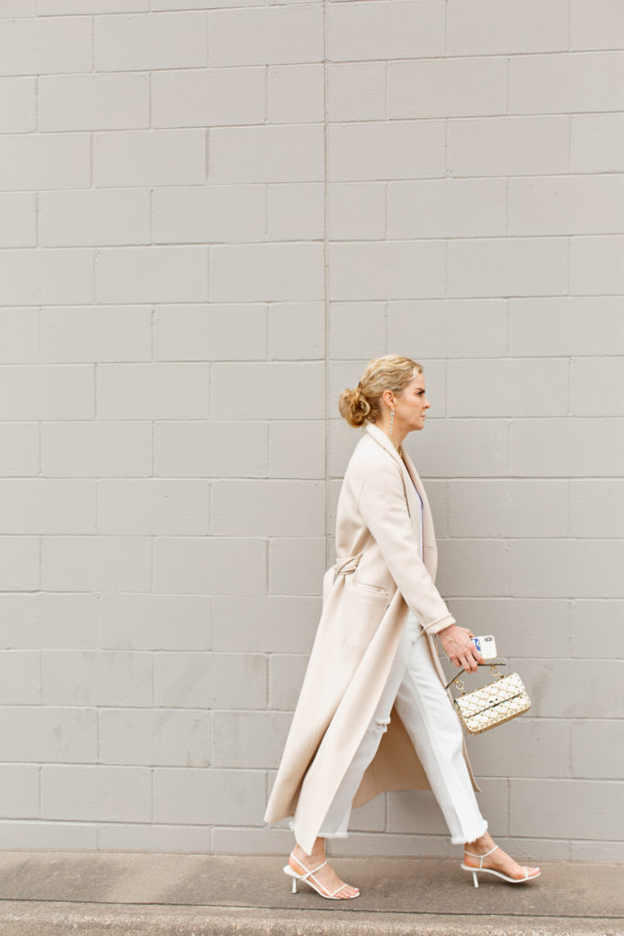 Valentino rockstud spike small metallic handbag