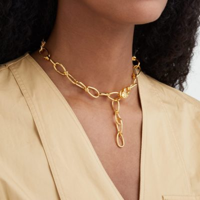 Misho chain link necklace