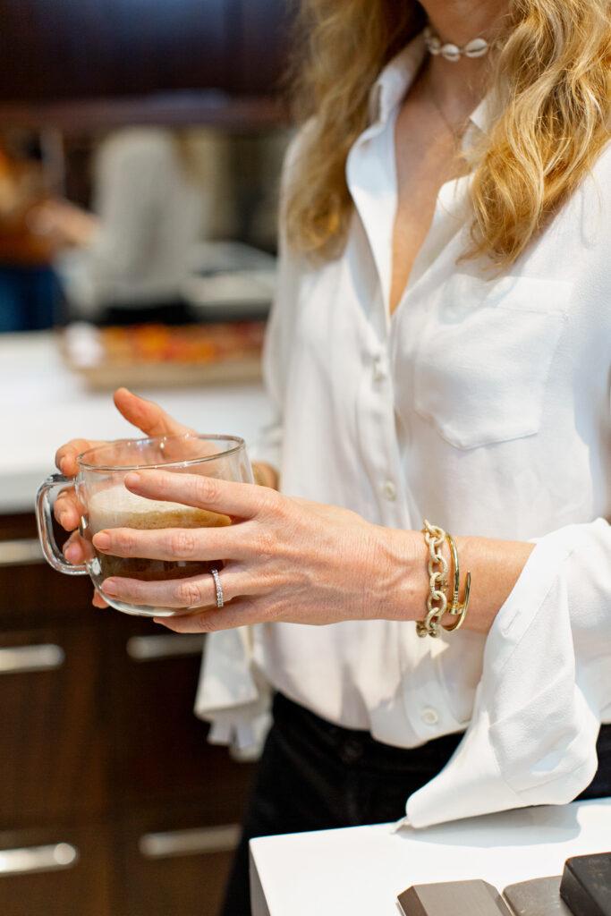 Carolina Bucci bracelet Cartier bracelet